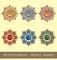 elements - medals awards vector image vector image