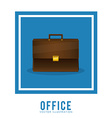 Office stuff design vector image