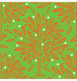 seamless tree pattern 016 vector image