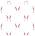 Bunny headband icon in cartoon style isolated on vector image