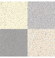 Set Seamless Flecked Stone Texture vector image
