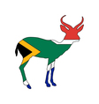 South Africa antilope vector image vector image