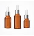 Essential Oil Bottle Package Set vector image