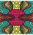 Festive kaleidoscope doodle design vector image