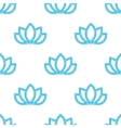 lotus flowers pattern Oriental background vector image