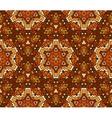 autumn undian seamless mosaic pattern vector image