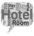 Casa De Carmona Hotel Near Seville text background vector image