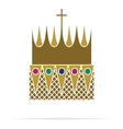 Crown icon1 resize vector image