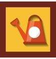 sprinkler garden isolated icon vector image