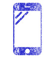 smartphone screen textured icon vector image