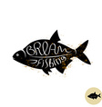 Bream logo vector image