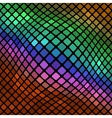 Colorful Square Pattern Abstract Background vector image