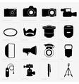 Photo equipment vector image vector image