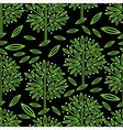 seamless tree pattern 017 vector image vector image