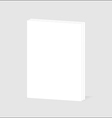 Blank sheet of paper with page curl vector image
