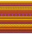 Tribal aztec seamless pattern vector image vector image