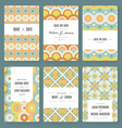 Save The Date collection vector image