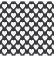 Abstract seamless monochrome pattern vector image
