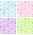 Seamless Baby Shower Patterns vector image
