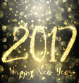 happy new year sparkle background 1310 vector image vector image