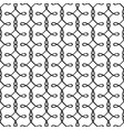 simple linear filigree pattern vector image