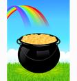 Money cauldron vector image