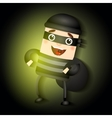 thief hacker vector image