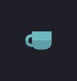 Cup computer symbol vector image