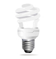 energy saving light bulb vect vector image vector image