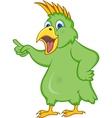 Cockatoo cartoon vector image
