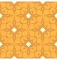 Floral ornamented pattern with geometric motifs vector image