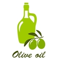 olive oil sign vector image