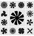 Fans vector image vector image