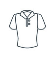 man polo shirt vector image
