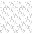 pepper pattern with dots on white background vector image