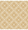 Seamless islam pattern Vintage floral background vector image vector image