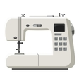 Sewing machine icon cartoon style vector image