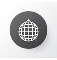 disco ball icon symbol premium quality isolated vector image