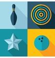 games set icon vector image
