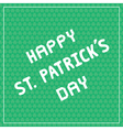 Happy Saint Patrick s Day5 vector image