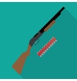 shotgun vector image