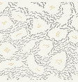 doodle line seamless pattern background pattern vector image