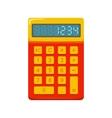 Pocket calculator vector image