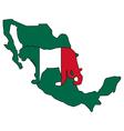 Jaguar Mexico vector image
