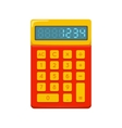Pocket calculator vector image