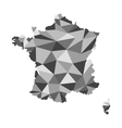 France map polygon vector image vector image