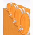 Wine cellar vector image
