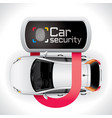 Car Lock Security vector image vector image