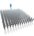 leader speaker vector image vector image