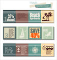 Travel Modern design template vector image vector image